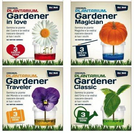 BioGlobe Ecosystem kleine tuinman in liefde