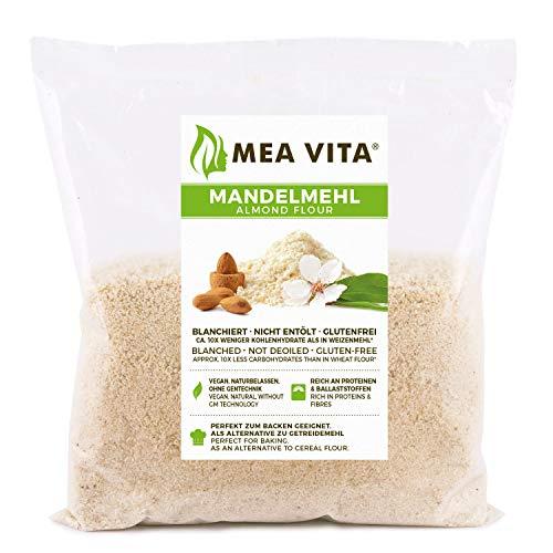 Farine d'amande MeaVita, naturelle, blanchie, 1 paquet (1 x 500g) en sachet