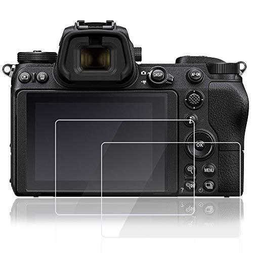 Afunta Bildschirmschutzfolie für Nikon Z7 Z6 Digitalkamera, gehärtetes Glas, kratzfest, hohe Transparenz, 2 Stück