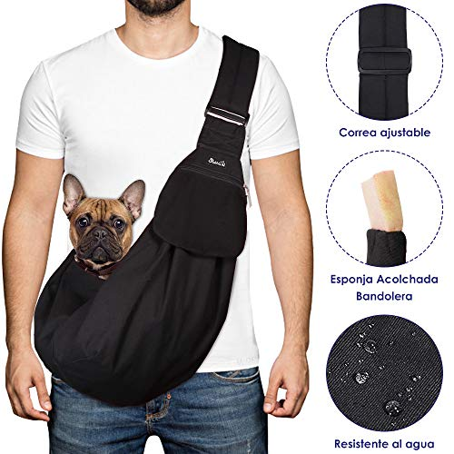 SlowTon Bandolera para Perro, Pet Carrier Dog Puppy Hand