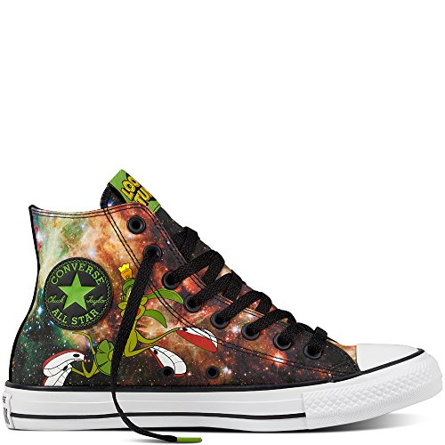Converse Chuck Taylor All Star High Looney Tunes Rivalry Collection Black Green White 158885C Limited Edition (5.5 UK · 38 EU · 24,5 cm)