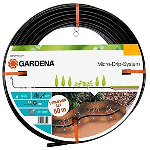 Gardena Micro-Drip-System Tropfrohr unterirdisch 13.7 mm: Wassersparende Perlschlauch-Verlängerung zur gleichmäßigen Bewässerung des Rasens (1395-20)