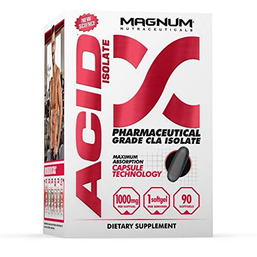 Magnum Nutraceuticals Acid Isolate - 90 Softgels - CLA Supplement - All Natural - Stimulant Free - Target Problem Body Fat