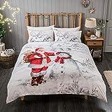 Sleepdown Bettwäsche-Set Weihnachtsmann