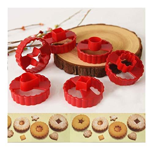 Cookie Cutter multifonction décoration de gâteau Fondant Coupe Outil DÉCOUPOIRS Ensemble de
