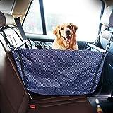 Mirui Funda para asiento de coche para perro, resistente, impermeable y a prueba de arañazos, hamaca de viaje para mascotas, para coche, camión y SUV, ajuste universal (color B: