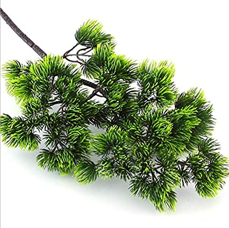 Amazon Com 42cm Pine Tree Branches Pine Branches For Decorating Artificial Pine Branches Artificial Pine Branches Craft Artificial Flower For Home Decor Indoor Home Decor Accessories Vintage Christmas Decor 7 Home Kitchen
