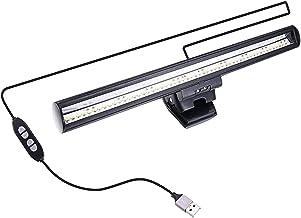 Homyl USB Monitor de Tela de Laptop Barra de Luz LED Pode Ser Escurecido Lâmpada de Leitura Proteção para Os Olhos Night L...