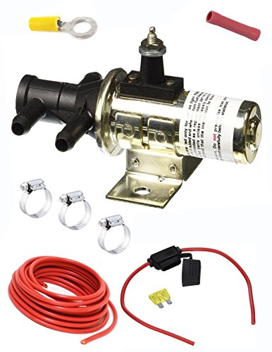 FUEL/GAS DUAL TANK SWITCHING VALVE SELECTOR 3 Port switch Valve w Clamps,Wire, Connector (2 TWO TANKS) MAIN + AUXILIARY Brand: SMP/Standard Motor Product