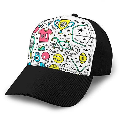 Sombrero clásico de algodón para papá Gorra Lisa...