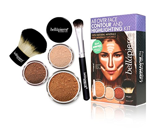 bellapierre COSMETICS Contouring and Highlighting Kit Deep