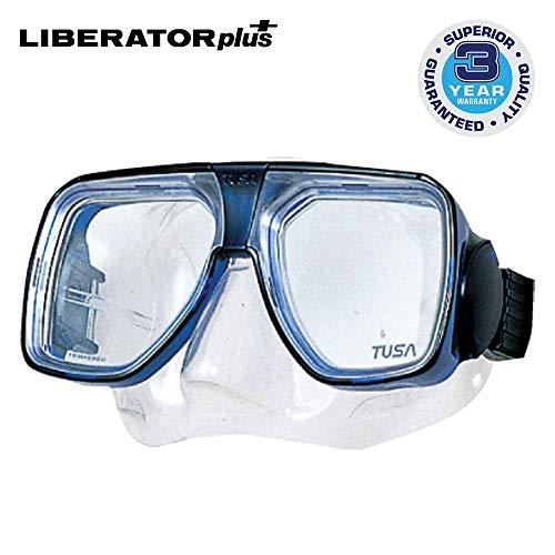 TUSA TM-5700 Liberator Plus Scuba Diving Mask, Cobalt Blue