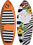 Ronix (Blemish Model Marsh Mellow Thrasher Wakesurf Board - Orange Pineapple Express - 4'8' (2018)