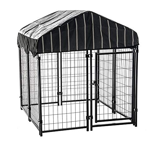 Lucky Dog - Pet Resort Heavy Duty Dog Outdoor Playpen with...