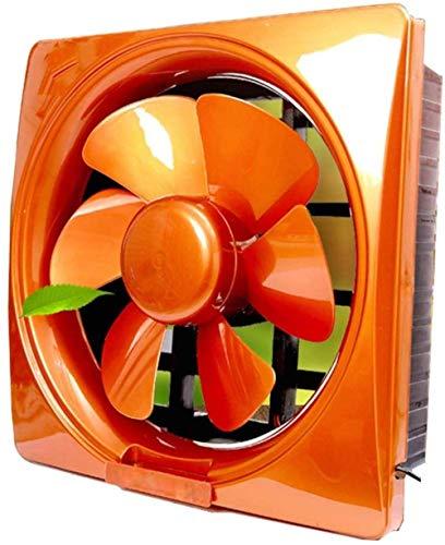 Extractor De Baño, Bathroom Extractor Ventilador, Cocina Extractor Ventilador 10 pulgadas Ventana de una sola vía Humo Humo Cocina Aseo (Color: Azul) (Color : Orang)