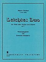 GIULIANI M. - Peque Duo Op.77 para Flauta (Violin) y Guitarra (Wensiecki)