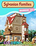 Rainbow Joy - Sylvanian Families Coloring Book: Fun gift, indoor activities, all ages, creative, improve skills