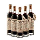 Vino dulce Tintilla de Rota de 50 cl - D.O. Jerez de la Frontera - Bodegas Gonzalez Byass (Pack de 5 botellas)