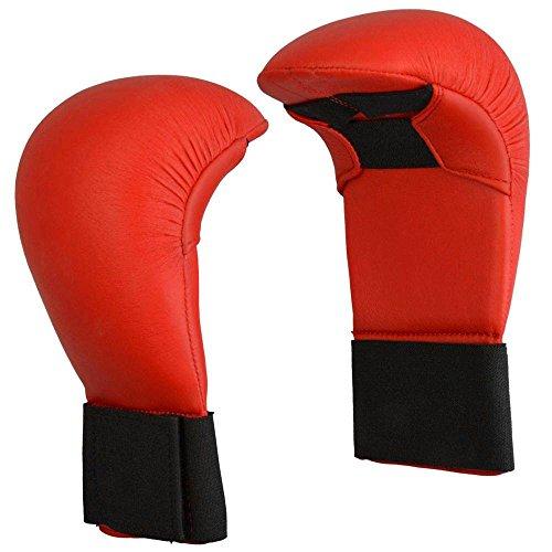 Budoten Karate Wettkampf-Faustschutz, rot S