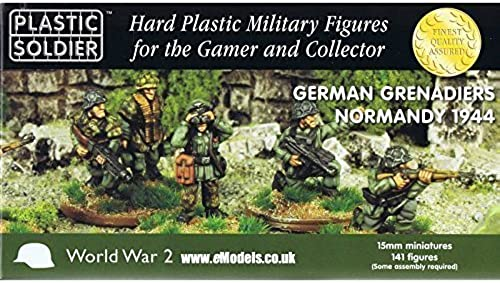 German Grünadiers Normandy 1944 15mm by Plastic Soldier Company