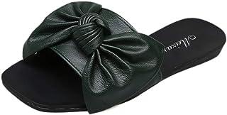 JOJONUNU Women Open Toe Slide Sandals