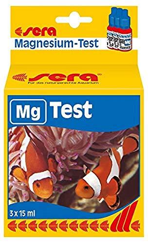 sera 04714 Magnesium Test (Mg), Wassertest, misst zuverlässig und genau den Magnesiumgehalt im Meerwasser Aquariumm, farblos