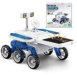 Kseroo PlanetsforKidsSolarSystemToys, Solar Powered Robots Kits, eco-Engineering STEM Educational DIY Building Mars Moon Cars Gift for Kids Ages 6+