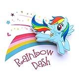 3DLightFX My Little Pony Rainbow Dash Mini 3D Deco Light