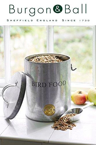 Vogelfutter-Behälter, verzinkt
