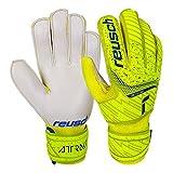Reusch Attrakt Solid Junior Goalkeeper Gloves, Size 6 , Yellow/White