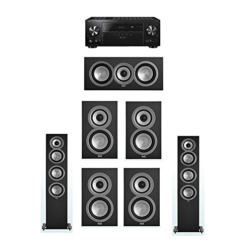 Purchase ELAC Uni-Fi 7.0 System with 2 ELAC UF5 Floorstanding Speakers, 1 UC5 Center Speaker, 4 ELAC...