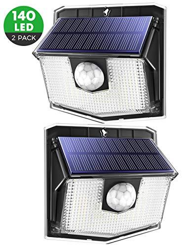 Mpow 140LED Solarleuchte mit Bewegungsmelder【Neue...