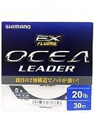 シマノ(SHIMANO) ショックリーダー オシア EX フロロカーボン 30m 5号 20lb クリア CL-O26L 釣り糸