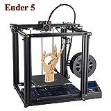 Creality 3D Ender-5 Kit de impresora 3D DIY 220 x 220 x 300 mm, tamaño de impresión con resumen de impresión Dual Y-Axis Motor adhesivo magnético suave soporte impresión offline