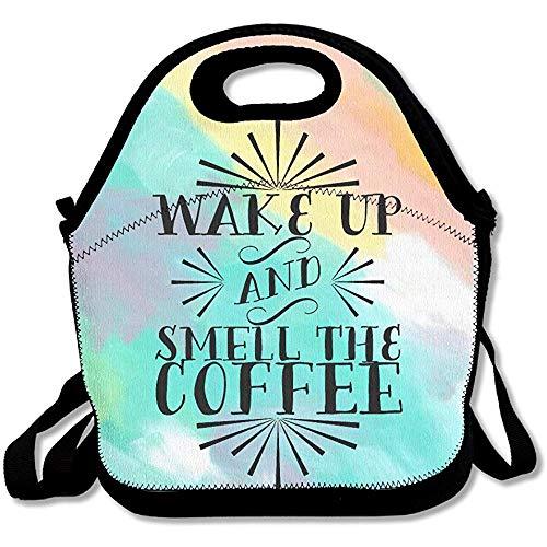 Lunch Boxen,Halten Sie Aufrecht Und Riechen Sie Die Kaffee-Mittagessen-Tasche