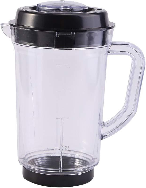Juicer Blender Pitcher 1000ML Juicer Mixer Pitcher Plastic Water Milk Cup Holder Transparent Household Kitchen Instrument Replacement For Magic Bullet