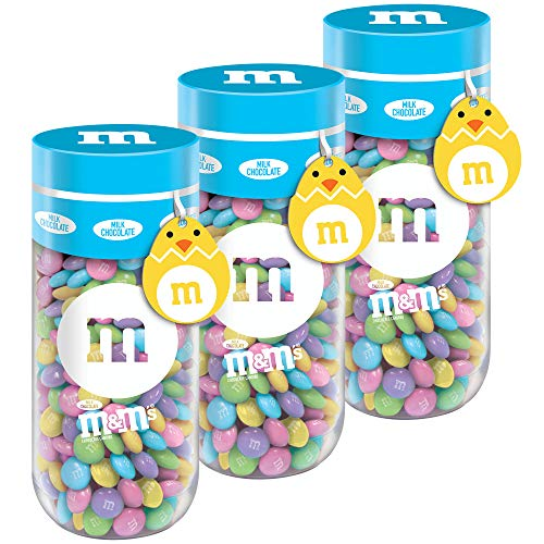 M&M's Milk Chocolate Gift Jar, 13 Ounce (Pack of 3)