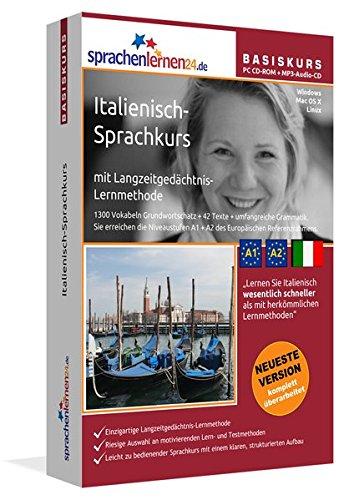 Italienisch Sprachkurs: Italienisch lernen für Anfänger (A1/A2). Lernsoftware + Vokabeltrainer