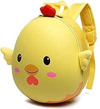 Toddler Backpack,Kids School Bags,Child Backpack Toddler Boy Girl School Bags Kindergarten Cartoon Chicks-Shaped Hard Shells Backpack Shoulder Bookbags (2-6 Years Old)