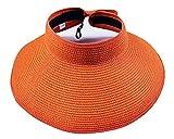 Women?s Summer Foldable Straw Sun Visor...