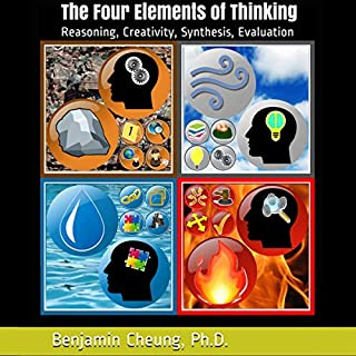 The Four Elements of Thinking: Reasoning, Creativity, Synthesis, Evaluation audiobook cover art