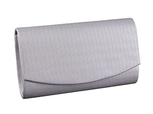 1pc Zilveren Clutch/Formele Avond Tasje Met Lurex, Tassen, Handtassen, Clutches, Mode-Accessoires