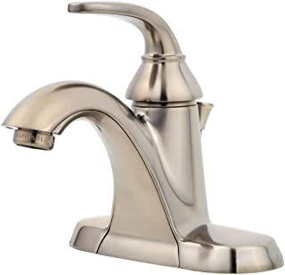 Pfister LF042PDKK Pasadena Single Control 4 Inch Centerset Bathroom Faucet in Brushed Nickel