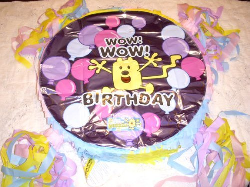 Fiestas de Bday Wow! ¡Guau! Wubbzy Birthday Custom New Party Piñata