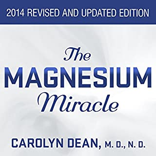 The Magnesium Miracle audiobook cover art