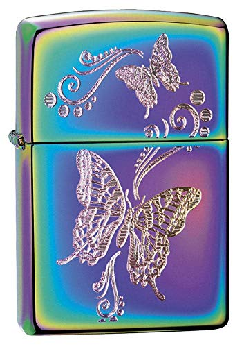 Zippo Butterflies Spectrum Pocket Lighter, One Size