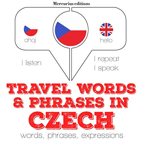 Travel words and phrases in Czech  By  cover art