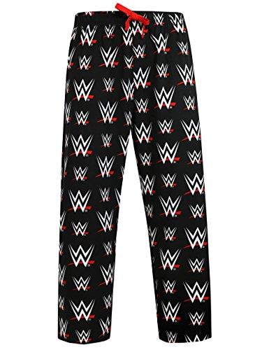 WWE Herren World Wrestling Entertainment Schlafanzughose Medium
