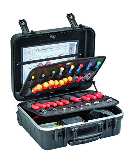 GTline Werkzeugkoffer Boxer WH PTS (ohne Inhalt, Werkzeugbox, Koffer mit Rollen + Teleskopgriff,...