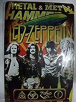 レッド・ツェッペリン Led Zeppelin ロック ヘビィメタル ブリキ看板 (2)